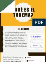 Qué Es El Tonema