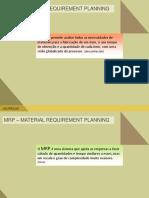 Slides de aulas sobre MRP