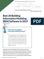 Best 20 Building Information Modeling (BIM) Software in 2019 - Financesonline.com.pdf