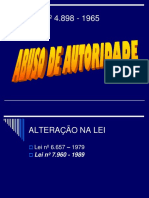 Abuso de Autoridade.ppt