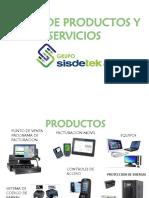 Catalogo Grupo Sisdetek