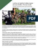 Las Guerrillas Activas en América Latina