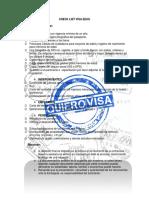 Check List Visa Eeuu