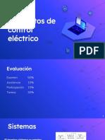 Elementos de Control Electrico