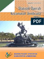 Statistik Daerah Kecamatan Jembrana 2014