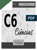 Agua c6 2bim Professor 2017