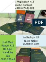 WA 0813.270.43.100, Jual Cover Raport Kurikulum 2013 SMK di Gido Sumatra Utara