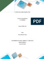 Actividad 6 - Guia Analisis Estadistico Final (Individual) Jovanna Arteaga
