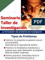 4. La Formulacion Del Problema de Investigacion