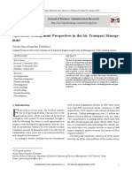 Tugas 1 - Operations Management Perspectives in the Air Transport