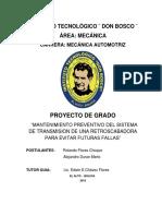 Formato de Perfil de Proyecto de Grado Ult