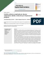 Celulitis Orbitaria Complicada Por Absceso Subperióstico Debido a Infección Por Streptococcus Pyogenes