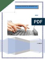 Estructuras y Tipos de Proyectos Informaticos