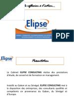 Plaquette Commerciale Elipse Consulting