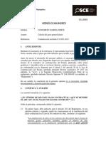 Opinión OSCE-094-12 - Calculo Del Gasto General Diario