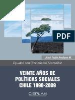 Arellano_20 años de politica social en chile