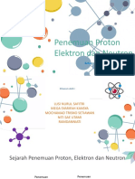 Penemuan proton, elektron, neotron (kelompok 6).pptx