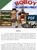 Boboy Sa Larong Pinoy