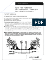 National Grid Q&A on Spier Falls-Rotterdam Transmission Line