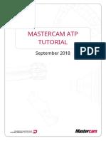 MASTERCAM ATP TUTORIAL
