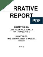 Narrative Repor1