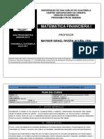 Matemtica Financiera I B