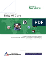 Employer Duty of Care