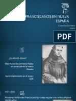 Los franciscanos en nueva españa