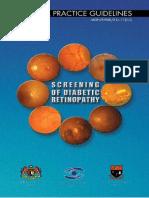 EYE Screening of Diabetic Retinopathy 2018