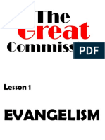 10 the Great Commission