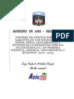 Informe de Gestión Apia