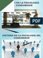 HISTORIA EN LA PSICOLOGÍA DEL CONSUMIDOR