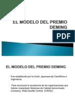 El Modelo Del Premio Deming