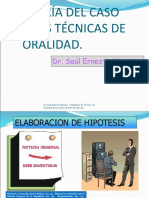 Teoria Del Caso y Las Técnicas de Oralidad-saúl Ernesto Morales