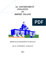 Local Government Finances in Rhode Island