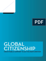 2012 Global Citizenship From Public Support to Active Participation