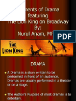 The Element Of Drama