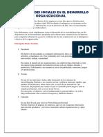 Redes Sociales en El Desarrollo Organizacional