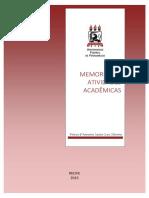 MEMORIAL  PROFESSOR TITULAR  Petrus Santa Cruz 2015 UFPE
