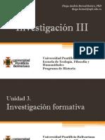 Unidad 3 Investigación Formativa