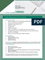 Executive, Finance & Accounts