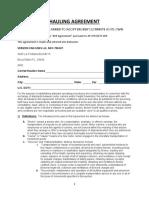 UAhaulin Contract