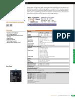 GW INSTEK Sps-606 Series Datasheet