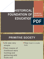 Grp7 Historical Foundation - Primitive