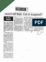 Peoples Tonight, Oct. 14, 2019, SLEX toll fees Cut or suspend.pdf