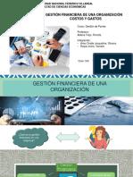 Gestión financiera costos y gastos