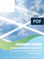 conference agenda vietnam solar energy summit
