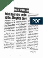 Remate, Oct. 14, 2019, Kahit magretiro probe vs Gen. Albayalde tuloy.pdf