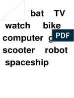 Unit 1 My favourite things - vocabulary.docx