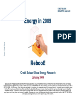 Credit Suisse 200901 - Energy in 2009